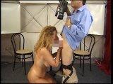 Amateurvideo Sabrina putzt mein Rohr! von Buddy64
