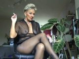 Amateurvideo this is the perfecte Nylon- Tights spray template von Sachsenlady