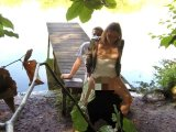 Amateurvideo Spanner Drecksau beobachtet Fick am See! von Doreensworld