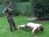 Amateurvideo Drill im Garten von FarmofPleasure