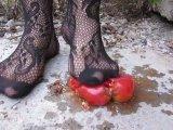 Amateurvideo Tomato pressure high heels (4) von Arabika